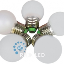 Лампа для Белт-лайта Е27, 1 Вт, d=45 мм, БЕЛАЯ