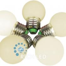 Лампа для Белт-лайта Е27, 1 Вт, d=45 мм, ТЕПЛ. БЕЛАЯ