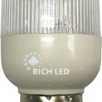 Лампа для Белт-лайта Е27, 2 Вт, d=45 мм, СТРОБ БЕЛАЯ