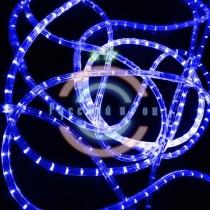 Светодиодный дюралайт 2-х проводной, синие диоды