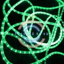 Светодиодный дюралайт 3-х проводной, зеленые диоды