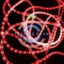 Светодиодный дюралайт 3-х проводной, красные диоды