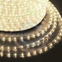 Дюралайт LED, постоянное свечение (2W) - тепло-белые, 36 LED/м, бухта 100м