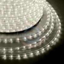 Дюралайт LED (светодиодный), эффект мерцания (2W) - тепло-белые Эконом 24 LED/м, бухта 100м