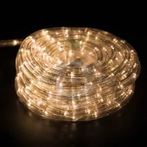 Дюралайт LED (светодиодный), свечение с динамикой (3W), 24 LED/м, тепло-белые, 6м