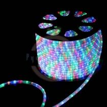 Дюралайт LED (светодиодный), свечение с динамикой (3W) - мульти (RYGB), 30 LED/м, бухта 100м