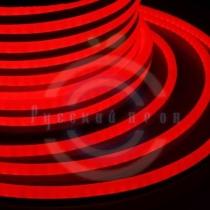 Гибкий неон - LED Neon Flex. постоянное свечение. Световая подсветка. Цвет красный, 16*26мм.