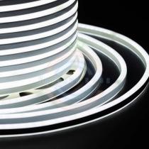 Гибкий неон LED SMD, компактный 7х12мм, двусторонний, белый, 120 LED/м, бухта 100м
