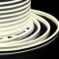 Гибкий неон LED SMD, компактный 7х12мм, двусторонний, тепло-белые, 120 LED/м, бухта 100м