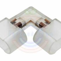 Коннектор для Гибкого неона 12х26 внутренний угол (без иглы)