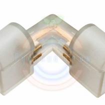 Коннектор для Гибкого неона 12х26 угол 90 градусов (без иглы)
