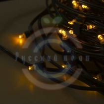 Гирлянда «LED ClipLight» 12V 300мм, цвет диодов желтый