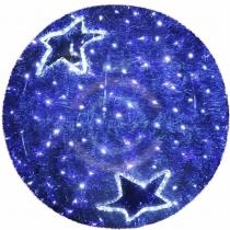 Фигура «Шар», LED подсветка Ø 80см, синий
