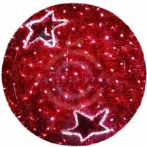 Фигура «Шар», LED подсветка Ø 120см, красный