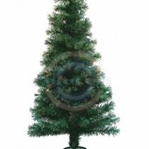 Новогодняя Ель фибро-оптика 120 см,  125 веток,  без декоративных украшений