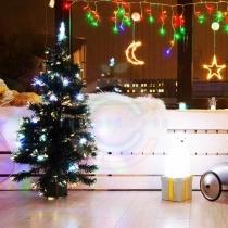 """Новогодняя Ель """"Сосна"""",  фибро-оптика 80 см,  93 ветки,  с декоративными украшениями,  Цвет Мультиколор"""