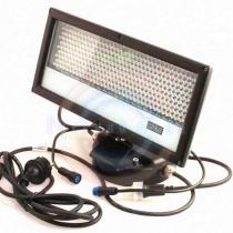 Прожектор прямоугольный, 360 диодов, размер 320x145x225, 25W, 240V/12V, RGB, IP65
