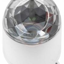 Диско-лампа светодиодная в компактном корпусе, 230 В
