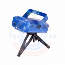 Лазерный проектор с эффектом цветомузыки, 230 В (1 проекция)