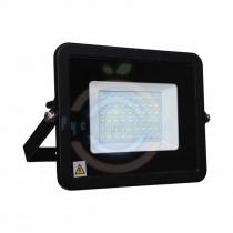 Прожектор светодиодный тонкий, 50Вт тепло-белые