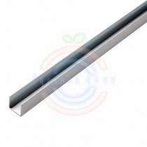 Короб алюминиевый для гибкого неона 15х26мм, длина 1метр