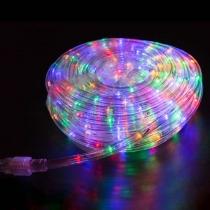 Дюралайт LED (светодиодный), свечение с динамикой (3W) - мульти (RYGB), 24 LED/м, бухта 100м