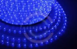 Дюралайт LED, постоянное свечение (2W) - синий, 36 LED/м, бухта 100м