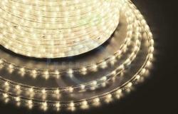 Дюралайт LED (светодиодный), постоянное свечение (2W) - тепло-белые Эконом 24 LED/м, бухта 100м