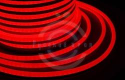 Гибкий неон LED (светодиодный) - красный, бухта 50м