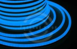 Гибкий неон LED (светодиодный) - синий, бухта 50м
