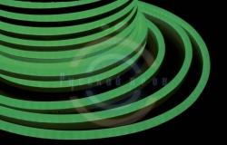 Гибкий неон LED (светодиодный) - зеленый, бухта 50м