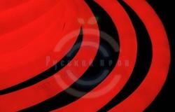 Гибкий неон LED 360 (круглый), красные диоды, бухта 50м