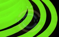 Гибкий неон LED 360 (круглый), зеленые диоды, бухта 50м