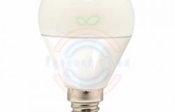 Лампа LED G45 E14, 7W 3000K 600Lm 220V Premium Lamper