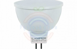 Лампа LED MR16 GU5, 3, 5W 3000K 400Lm 220V Premium Lamper