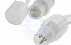 Дюралайт LED (светодиодный), свечение с динамикой (3W) - тепло-белые, 24 LED/м, бухта 100м