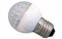 Лампа шар e27 9 LED Ø50мм тепло-белая