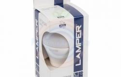 Лампа LED A60 E27, 12W 3000K 890Lm 220V Premium Lamper