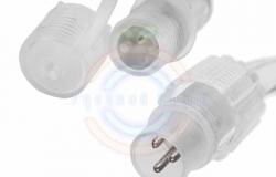 Дюралайт LED (светодиодный), свечение с динамикой (3W), 24 LED/м, белый, 6м