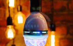 Диско-лампа светодиодная e27, подставка с цоколем e27 в комплекте, 230 В