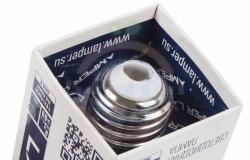 Лампа LED A60 E27, 10W 3000K 800Lm 220V Premium Lamper