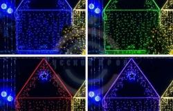 Дюралайт LED (светодиодный), свечение с динамикой (2W) - RGB Ø13мм, 36LED/м, 6м