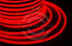 Гибкий неон LED SMD, красные, 120 LED/м, бухта 50м